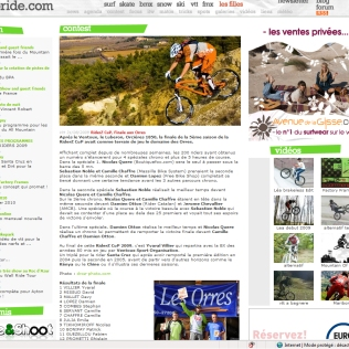 09 09 Agoride Website