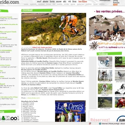 09 09 Agoride Website