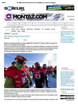 11 01 Urge Enduro Ski Skieur Mag