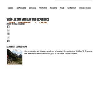 11 09 Michelin Wild Experience sur Enduro Tribe